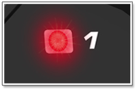 AiM MyChron5 Besonderheit Alarmlampen
