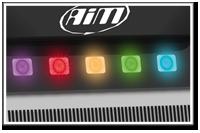 AiM MyChron5 Besonderheit Schaltlampen